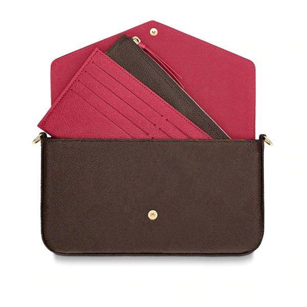 2020 الساخن مبيع إمرأة أكياس مصممين حقائب اليد المحافظ امرأة حقيبة يد محفظة الأصلي مربع التاريخ رمز الأزياء بالجملة مدقق منقوشة زهرة