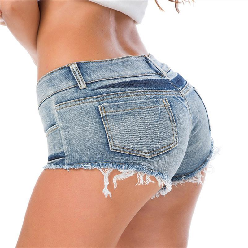 Nuove donne pantaloncini estivi jeans sexy denim shorts super mini Booty Corto Club Dance Party casuali scarni signore breve S M L