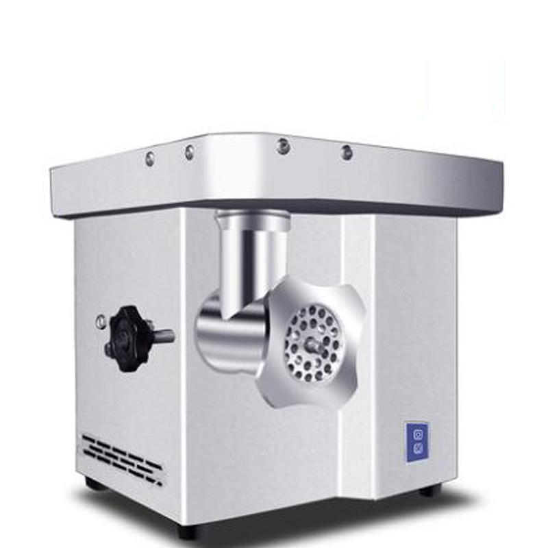Электрическая Колбаса машина 150 кг / H 110V / 220v Desktop Мясорубка Коммерческих нержавеющей сталь Мясорубка
