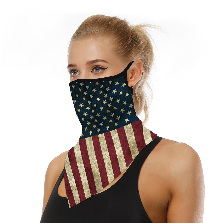 Máscara protectora da tampa Headset Máscaras de ouvido multi functiona Proteção scraf Ciclismo Máscara Moda Quick Dry Hairband Lenço Anti-fog Headwear US