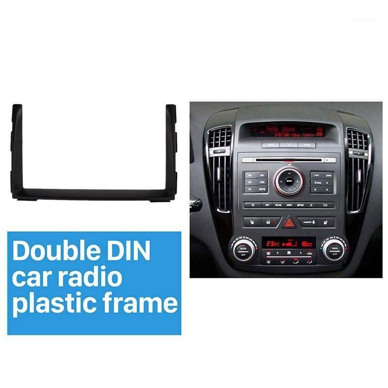 Автомобиль Audio 2 DIN Radio Fassia DVD GPS Декоративная рамка Dash Mount Surround Pare для Kia Ceed 2010-20121