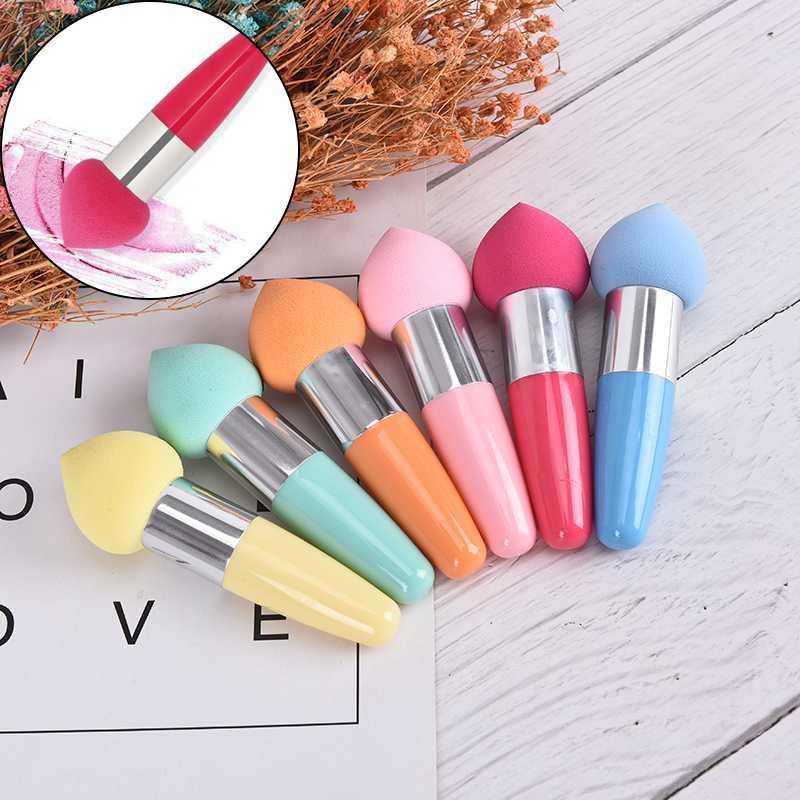 1pc Profesional manija del soplo del maquillaje Fundación belleza Pen Esponja Puff Maquillaje esponja