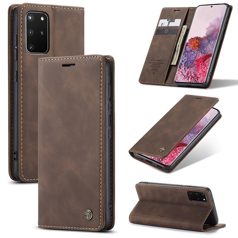 Кожаный кошелек чехол крышка Flip для Samsung Galaxy A50S A70S A51 A71 A21S A31 A41 Pocket Cash Cash Card Card Slots владельца