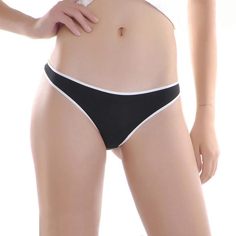 Kadın Külot Kadınlar Dikişsiz Tanga G-Dizeleri Seksi Bayanlar Crotchless Külot Düşük Bel Thongs G-String Intimates ve