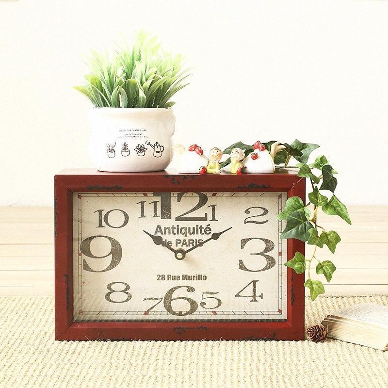 Vida sencilla habitación decoraciones de pared Relojes de pared de hierro relojes de cuarzo relojes de silencio decoraciones LIEF #