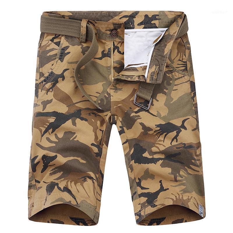 Moda novo shorts de shorts de cargas novo verão calça de luz curto casual bolso maior clássico algodão macho calças curtas trifantes1