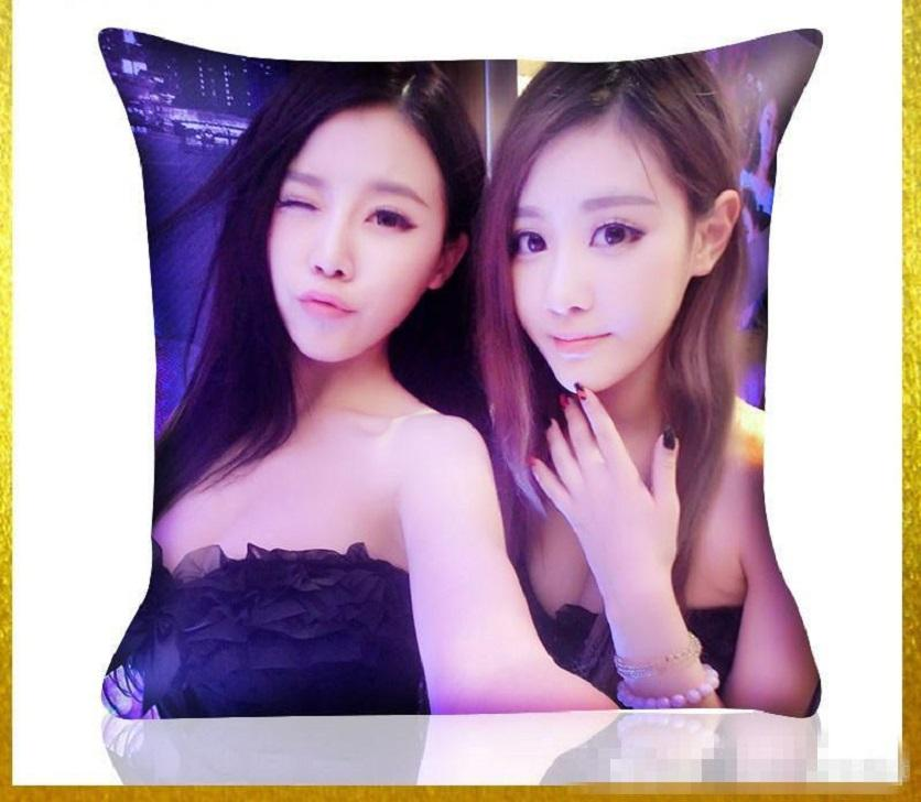 sublimation blank peach skin pillow case hot transfer printing blank white peach flannelette pillow cases consumables HHE4125