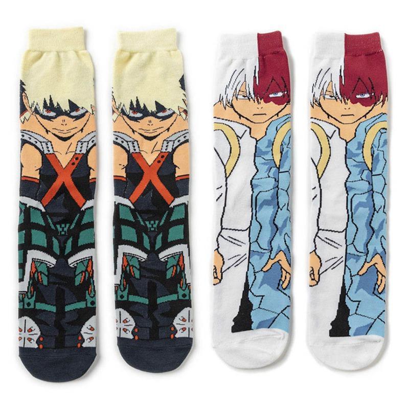 Anime meu herói Academia Izuku Midoriya todos pudessem caráter cosplay Socks Tripulação