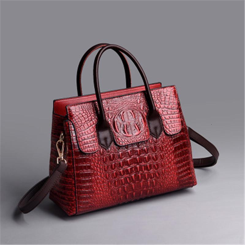 Качественная мода женская сумка роскошный бизнес старинные дамы сумка крокодила сумочка пользовательских услуг ретро трендовая сумка женское высокое качество женская сумка