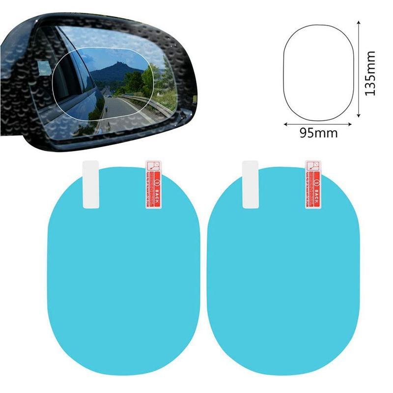 Araba Ayna Pencere Temizle Film Anti Sis Filmleri Araba Dikiz Aynası Koruyucu Film Su Geçirmez Yağmur Geçirmez Araba Sticker
