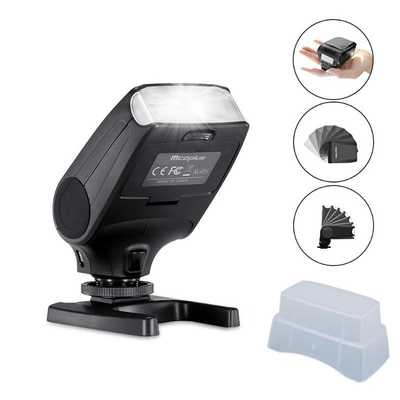 Mcoplus MCO-320L Flash Speedlite for OM-D E-M5 II E-M10 E-M1 PEN E-PL7 E-P5 E-PL6 E-PL5 E-PM2 E-P3 E-PL3 as -320
