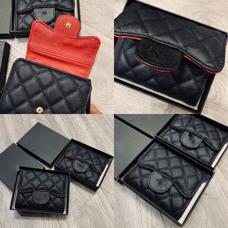 GI7VF Moeda Carteira Carteiras Letras Planície Com Mens Compartimento Curto Quadrado Luxuoso Forma Versátil Interior Cores De Alta Qualidade Luxurys