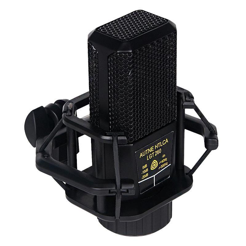 260 Mikrofon, 14 Çekirdekli Ağ Cep Telefonu Ulusal K Şarkı Canlı Broadcast Mikrofon Kondenser Mikrofon