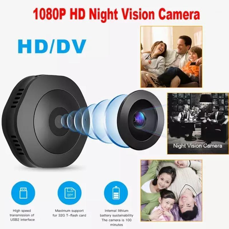 H6 1080p Mini fotocamera WiFi Sport Home Security Camera Visione notturna Vision wireless Sorveglianza Movimento DVR Micro piccolo1