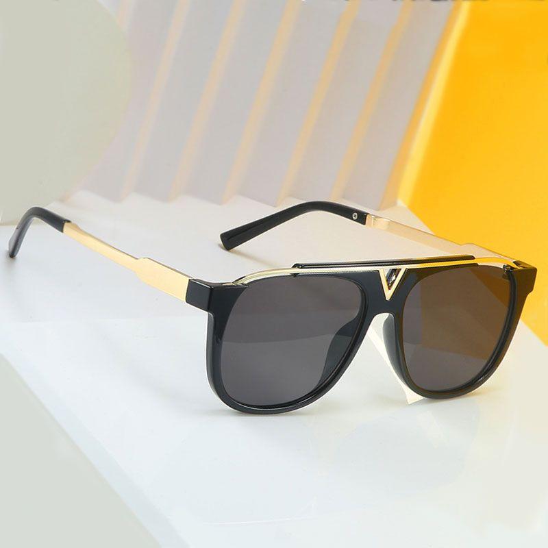 Vescion Big Frame Роскошные Полые Солнцезащитные Очки Мужчины Женщины Мода Очки УВ400 Старинные Очки
