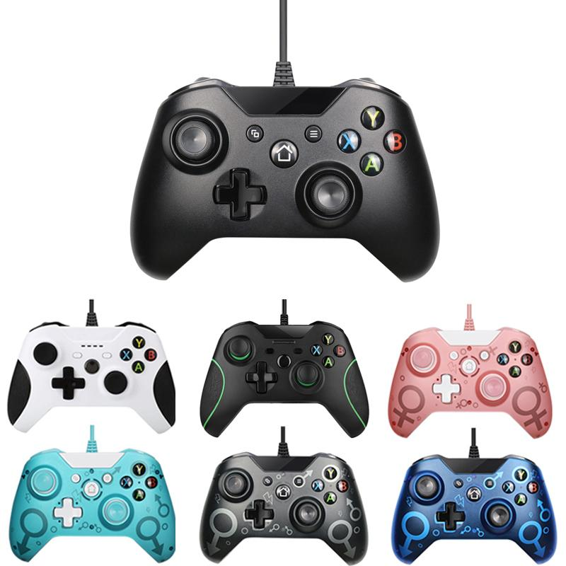 USB Wired Controller Controle For Microsoft Xbox One Controller Gamepad For Xbox One Slim PC Windows Mando For Xbox one Joystick Y0114