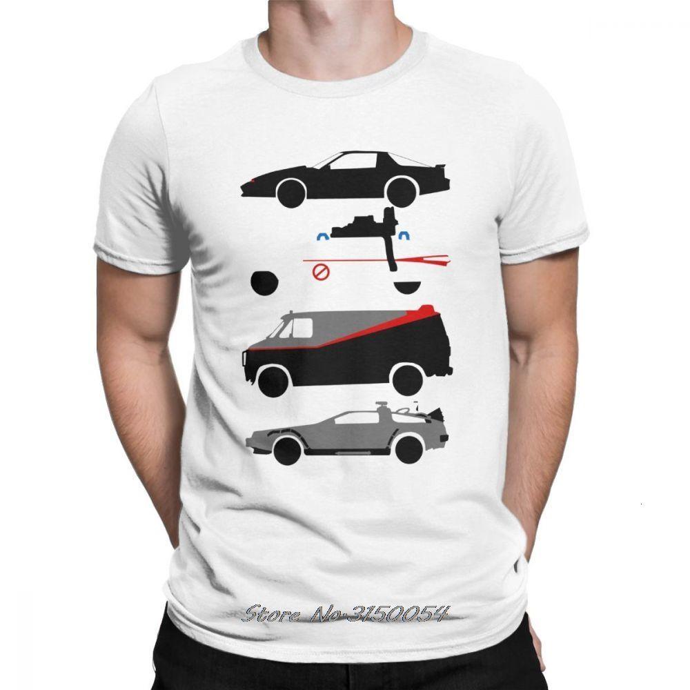 New Knight Rider Kitt Ghostbustears Das Auto der Star beiläufige Tees Short Sleeve T-Shirt Tops Sport mit Kapuze SweatshirtHoodie Männer T-Shirt