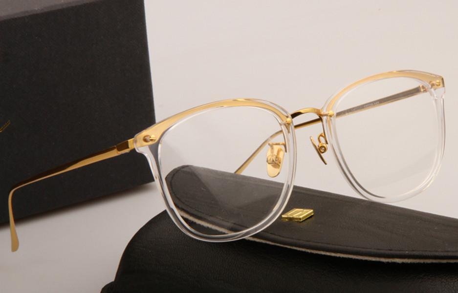 النظارات الشمسية إطارات LFL222 لوح إطار نظارات إطار استعادة الطرق القديمة oculos دي غراو الرجال والنساء قصر النظر النظارات إطارات