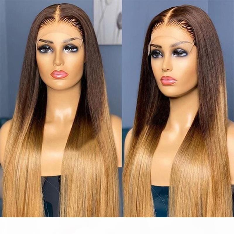 Perruque de cheveux en dentelle pleine dentelle péruvienne sans glucides avec poils bébé 13x6 dentelle perruque avant pour femmes naturelles HairLine 360 Frontal