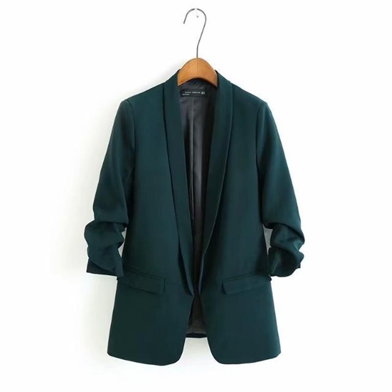 65-8256 Le costume européen et américain costume veste femme manteau de printemps femme Y201012