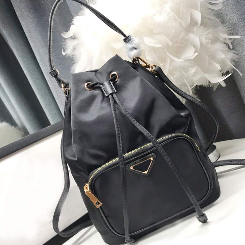Mini Tote Borse Desbyopic Shopping per le donne Borsa Catena in pelle LQMOV Spalla Benna Real Coulisse Secchio Genuino per Fashion Classic BA MMBK
