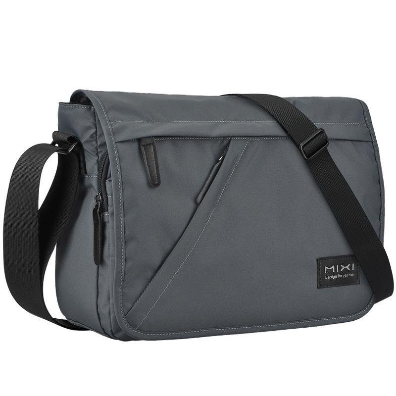 Mixi Fashion Men Messenger Bag Crossbody Bag Boys Casual Shoulder Bag C0224