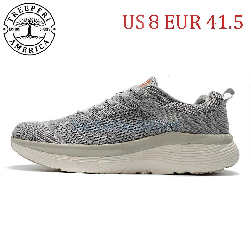 US 8 EUR 41,5 дешевые Best TreePeri 611 платформенные мужчины кроссовки серого для женщин спортивные кроссовки