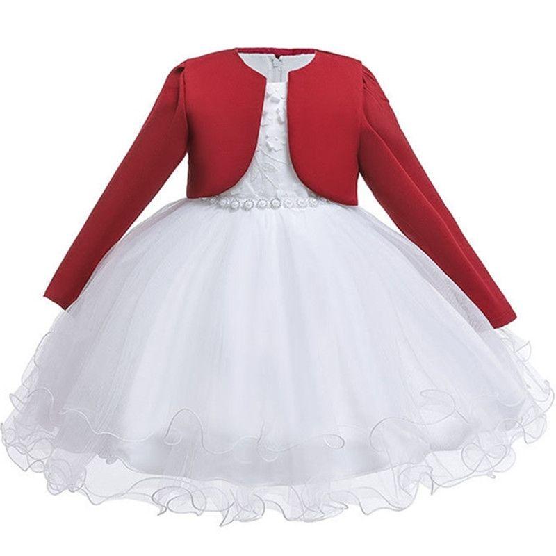 Vestido infantil estilo de estilo español vestido de niña vestido de encaje vestidos de bautismo para niñas 1-3 años fiesta de cumpleaños ropa de boda T200424