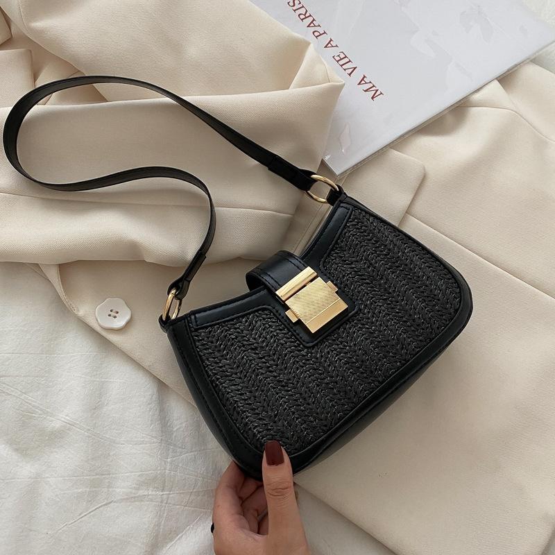 Achselhöhle Achselhöhle für Frauen mit französischen Textur Beliebte 2020 Neue Sommer Flut Net Rot Gesetz Stick Tasche Vielseitige Ins Messenger Bag Pnvlx PNVLX