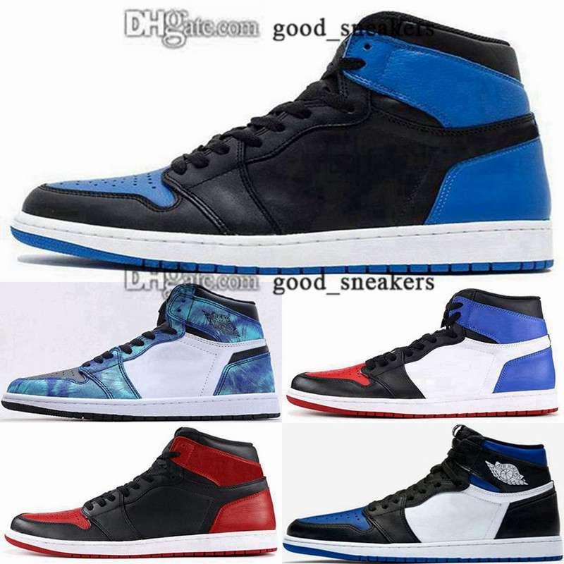 Tenis High Og Chaussures Taille US 46 Hommes EUR Sneakers Femmes 12 Retro Basketball 35 Entraîneurs Jumpman 1 2020 Nouvelle Arrivée 5 Paniers Jeunesse Royal Toe