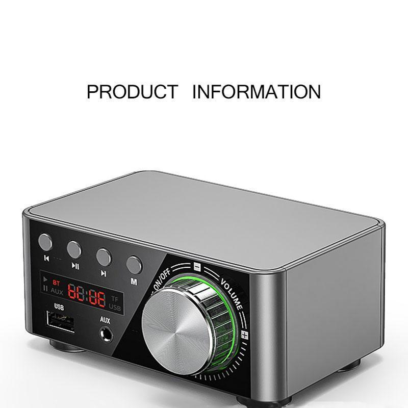 Digital Power Board Bluetooth 5.0 Power für HiFi-Stereo Heim-Audio-Digital-Auto-Verstärker Heimkino-Verstärker