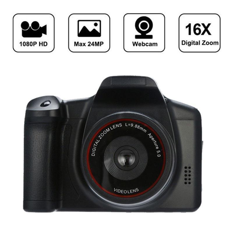 """1080P HD видеокамера видеокамера 16X цифровой зум Ручной профессиональный антисмещ камкордеров с 2,4"""" ЖК-экран DV-рекордер"""