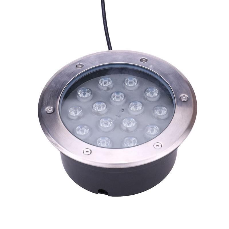 Cambiante impermeabile RGB 15W LED ad alta potenza sotterranea DC Luce 12 volt Illuminazione di paesaggio Lampada da parete IP68