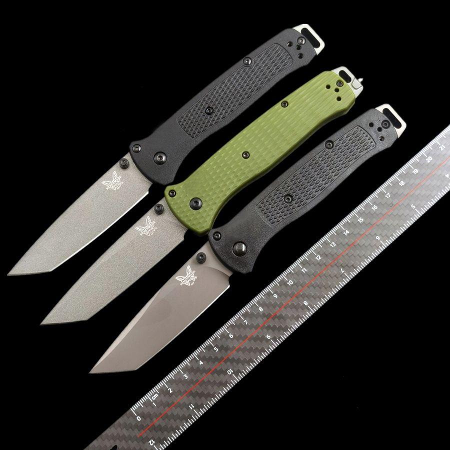 Benchmade Bragout BM 537 537gy Blocco pieghevole 3V Blade BM940 781 535 550 319 coltelli