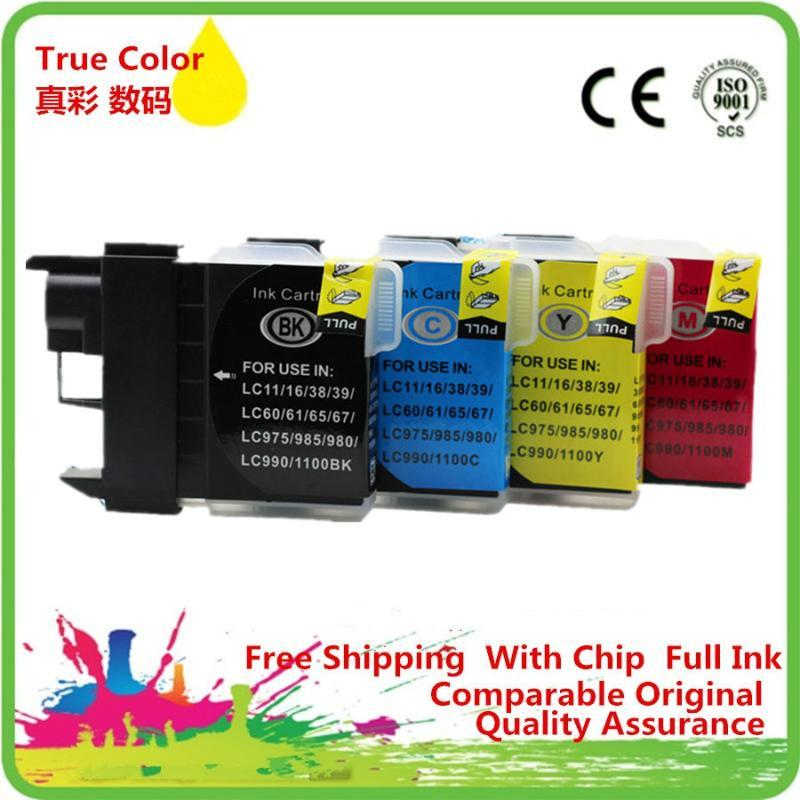 Substituição LC11 LC16 LC38 LC61 LC65 cartuchos de tinta para -J515N -J715N -J125 -J315W -J515W