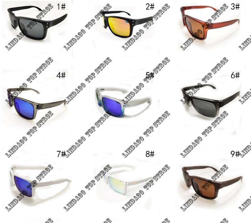 2018 nova moda polarizada óculos de sol homens marca ao ar livre esporte óculos googles sol óculos uv400 multi moldura ciclismo sunglasse 9102