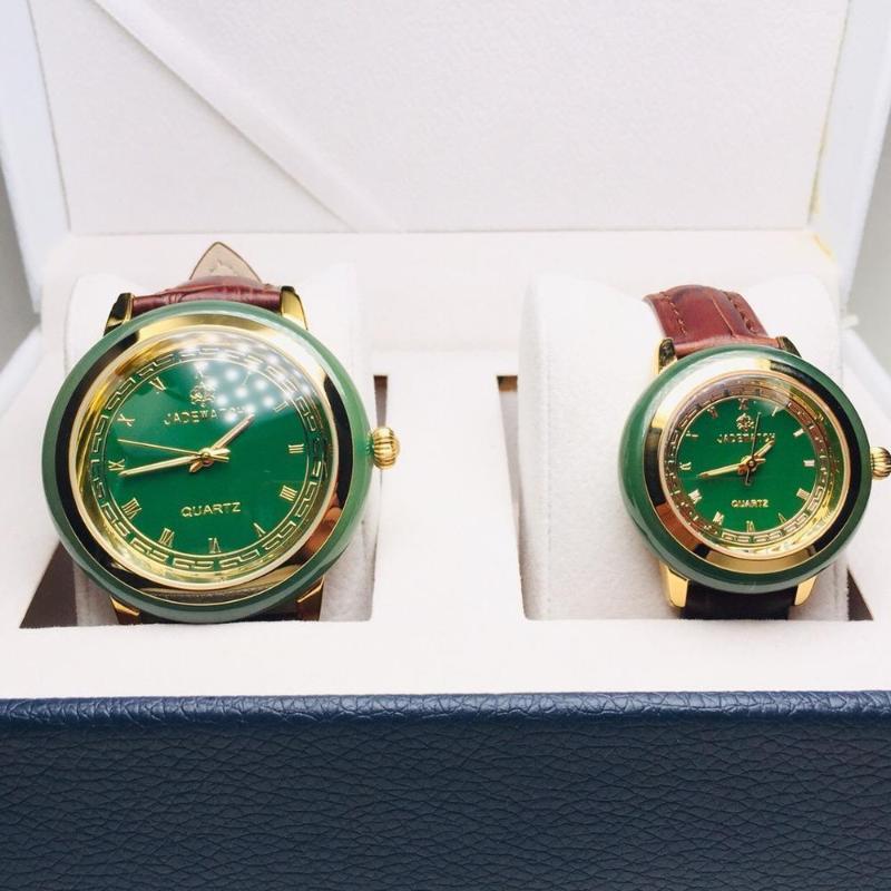 Neue 2020 Liebhaber Jade Armbanduhr Herren Quarz Top Uhr Paar Mode Heiße Karneval Kreative Geschäftsfrau Uhr