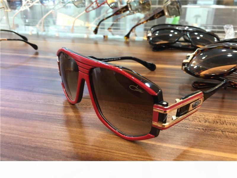 Kühle Mens Vintage-Legenden Sonnenbrille Matte Black Gold Grau Gradient Lens Nagelneu mit Box