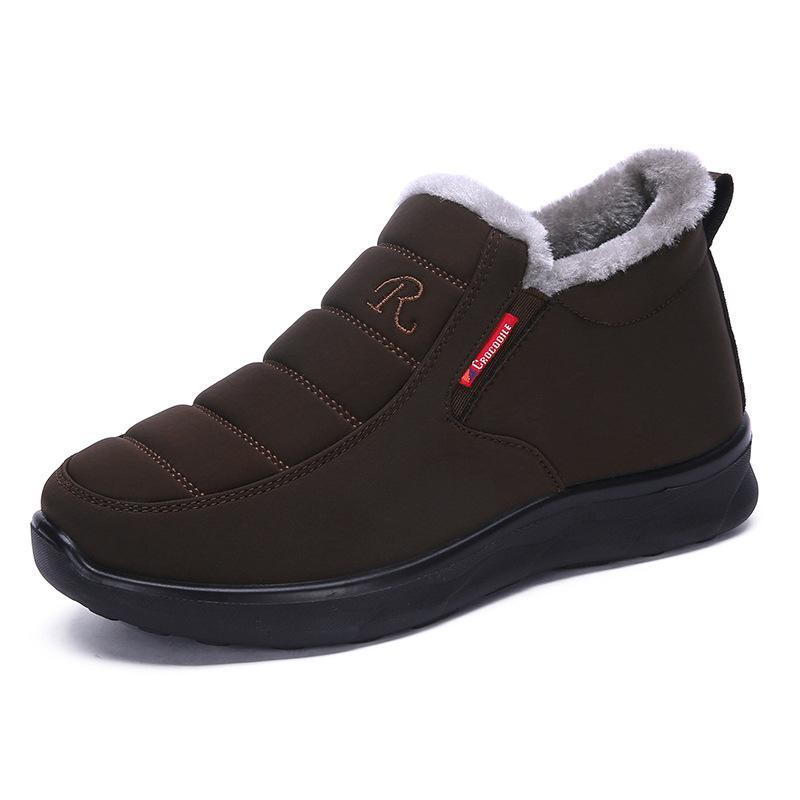Calçado de inverno Casual Moda Inverno Chunky Calçados Femininos Estilo Feminino 2020 Bota Feminino grife femininas Zapatos de mujer