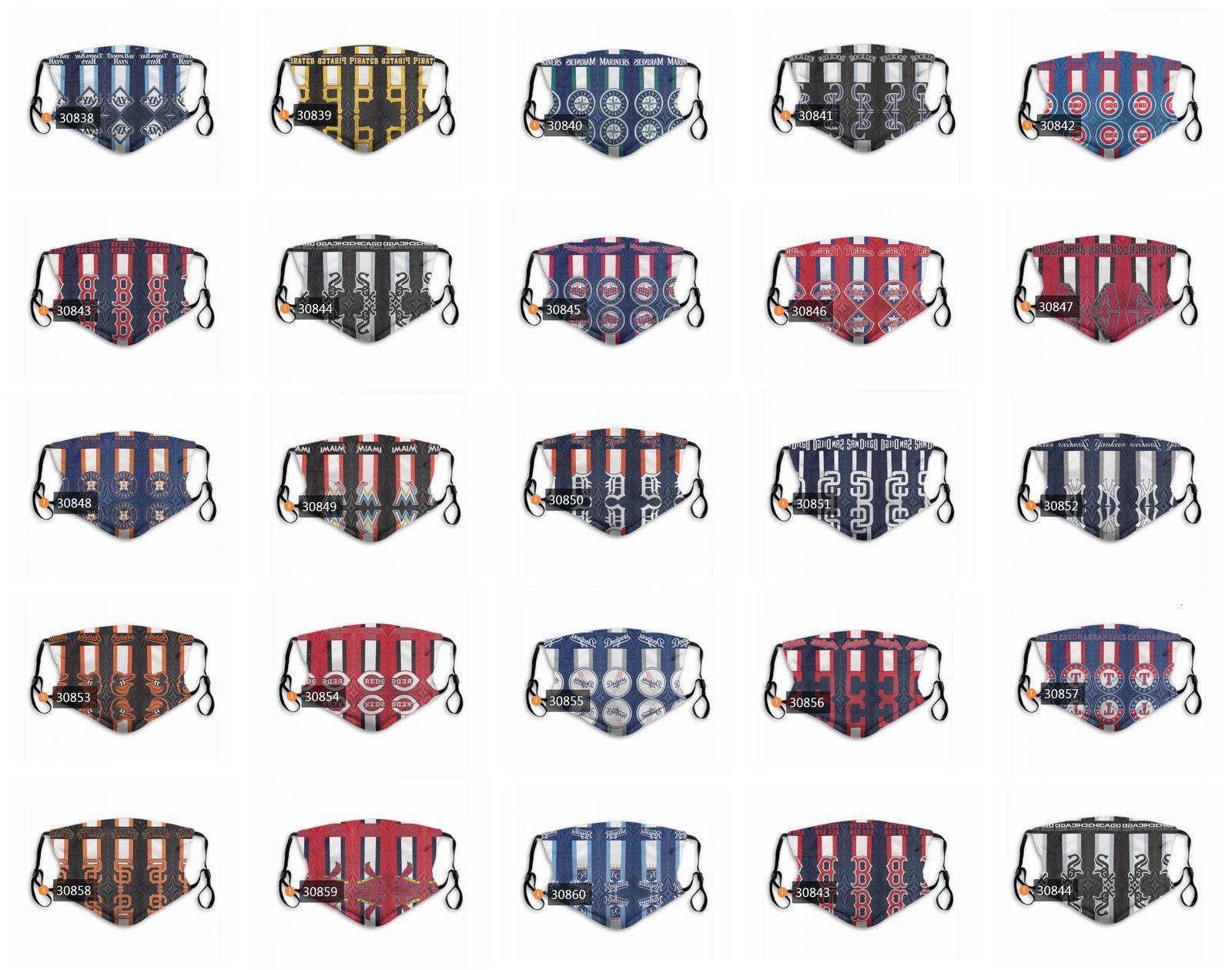 Maske Frauen 2020 und Designermode Neu! Männer Fußball Gesicht waschbarer schützender personalisierter Luxus 3-Layer PM2.5-Masken