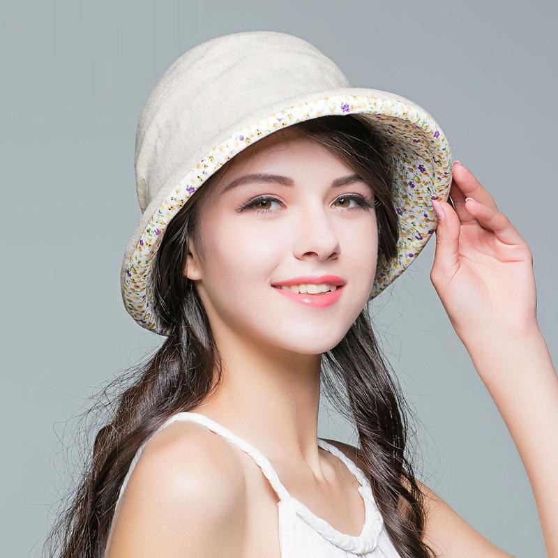 Seyahat Güneş kremi Cap Katlanabilir B-7607 Dış Kadın Yeni Güneş kremi Şapka Kız Yaz Güneşlik Seyahat Güneş Cap Öğrenci