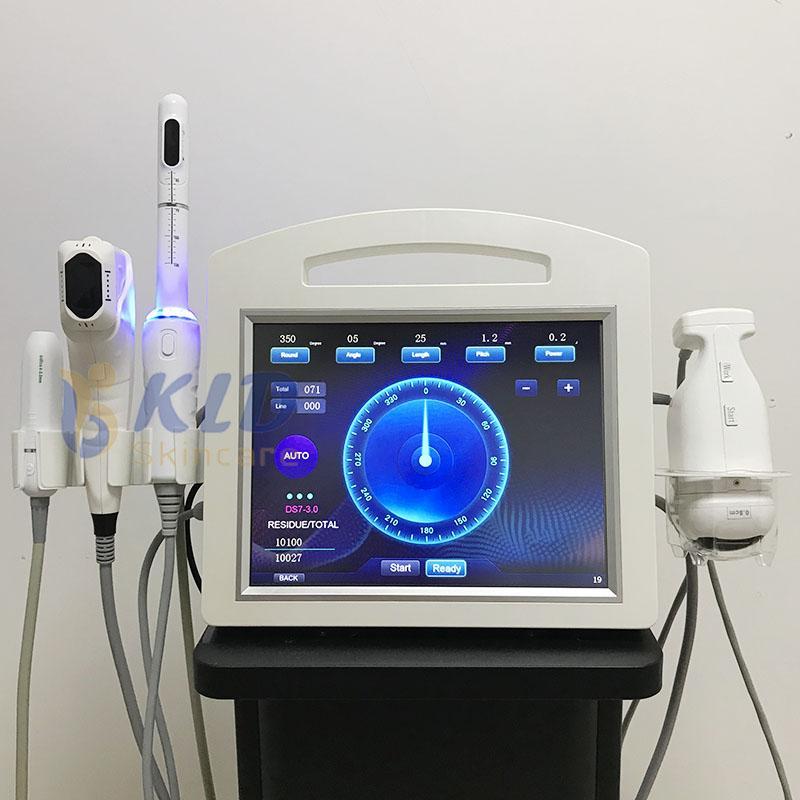 2021 Новый 4D HIFU VMAX Вагинальный утяжений липозон для липосонического жира убьет кожу жесткий глаз / шеи / лифта для лица 12 линий 20000 выстрел