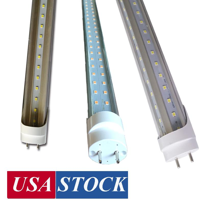 22W 28W G13 LED-Röhrchen, 4FT Glühbirnen 36w 72W V-förmig, 6000K 6500K Ersatzfluoreszenzlampen, Ballastbypass, Bi-Pin-Basislampe USA Stock 25 Pack