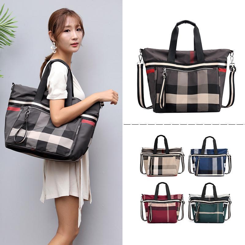 Borse a mano di alta qualità del messaggero Canvas Tote Bag per le donne borse di nylon di signore di Crossbody Tracolla Donne per Ragazze Femminile