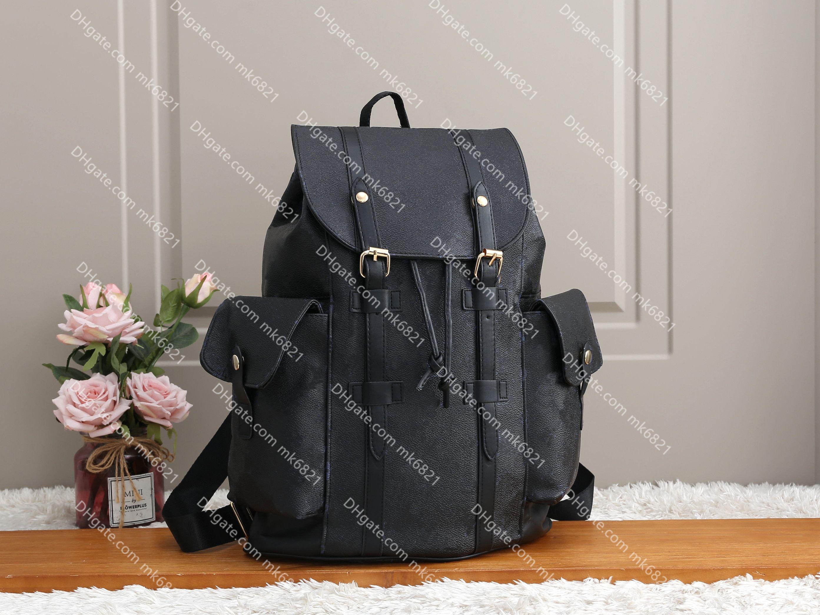 High Christopher Bags Luxurys Calidad Hombres Escuela Mochila Mochila Mochila Back Pack Satchel Designers Bag Moda Mujeres WCQRR