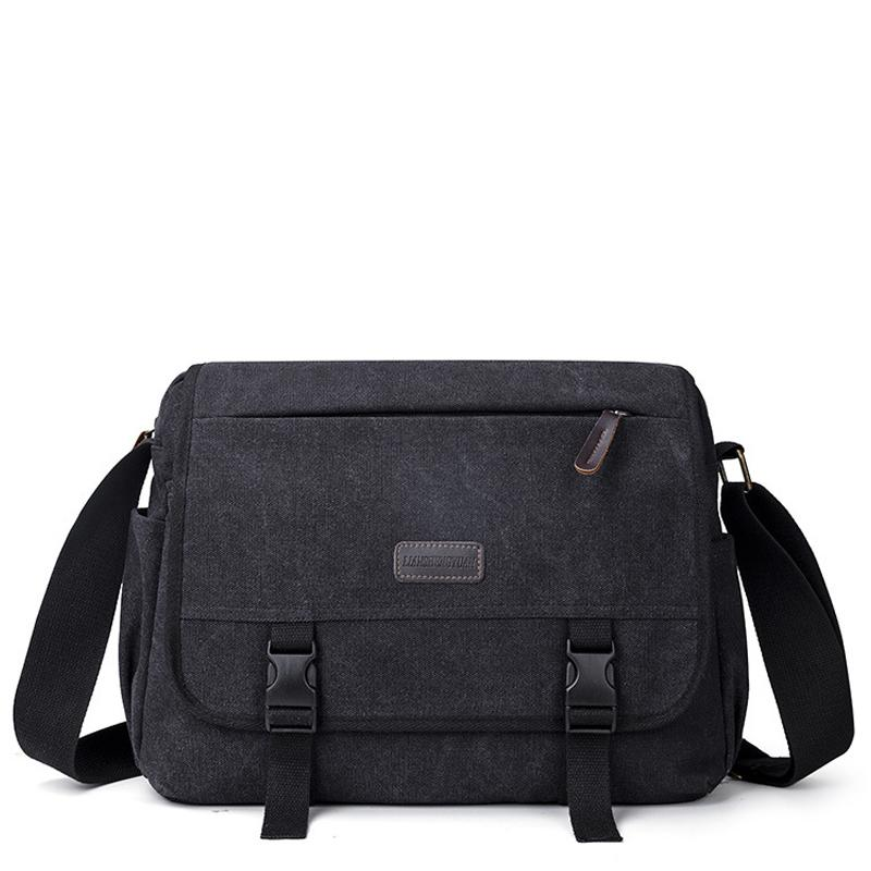 2021 Men bag canvas business luxury high quality laptop briefcase File package Travel Leisure bags Q0112
