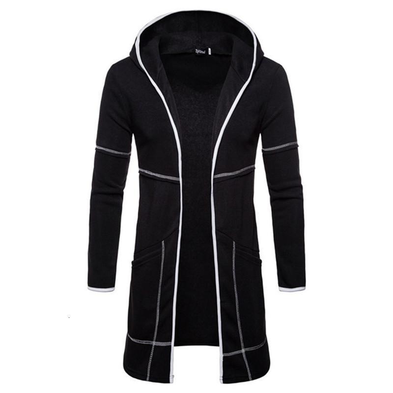 Giacca a vento con cappuccio Cardigan 2020 uomini di modo Nuovo Sportswear