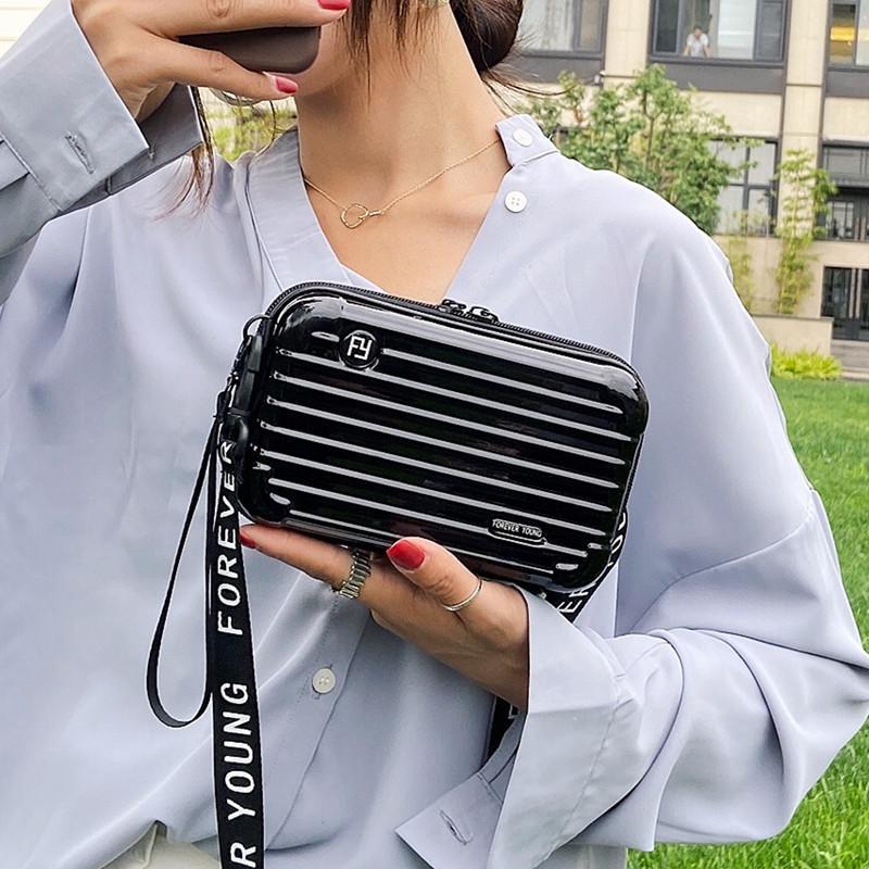 sacos das mulheres 2020 novo ombro mensageiro saco mala de viagem pequeno saco de cosméticos