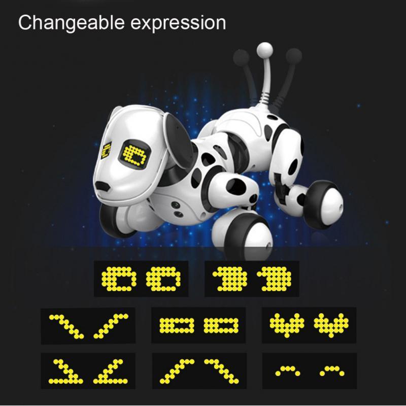 Led électronique Pet Toy Marche Danse Interactive Pet Puppy Dog Robot RC intelligent pour chien à distance de contrôle Robot Jouet Jouets électroniques