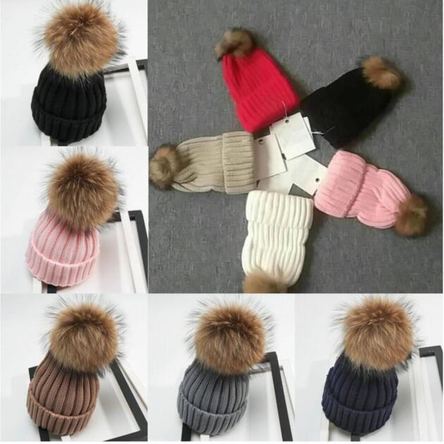 Горячая мода детская вязаная шляпа осень зима милая вязать кепки мальчики и девочки шляпы детская детская шляпа